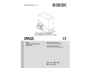GiBiDi Pass Installation Instructions