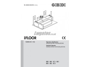 GiBiDi Floor Installation Instructions