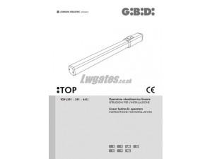 GiBiDi Top Installation Instructions