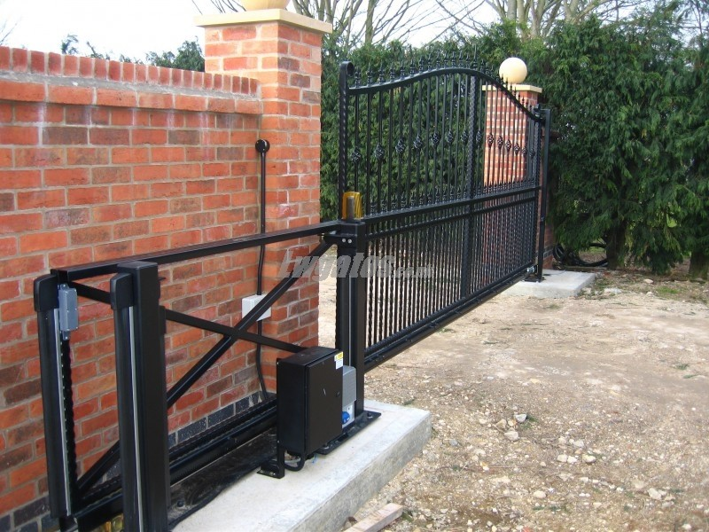 Steel Decorative Cantilever Gates Lw Systems