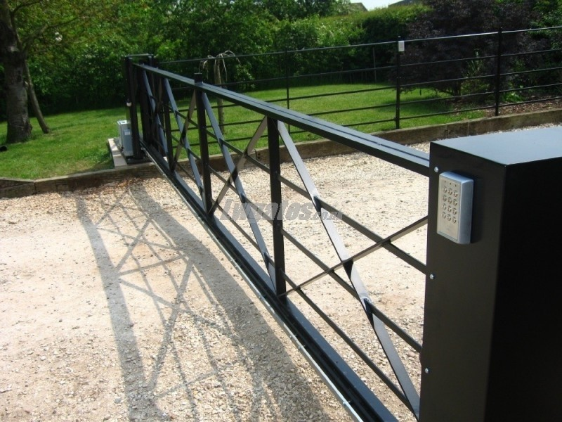 Cantilever Steel 5bar Sliding Gate Lw Systems