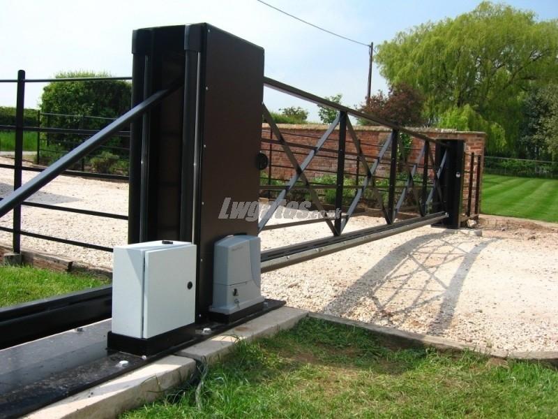 Cantilever Steel 5bar Sliding Gate Lw Systems