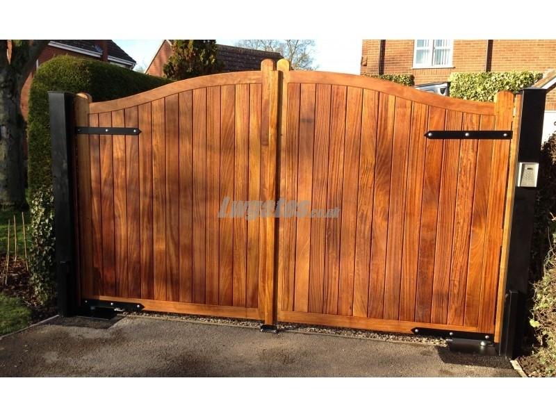 Hardwood Iroko Gate Lw Systems